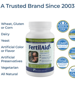 increase sperm count, non-gmo, low sperm count vitamin, fertilaid men