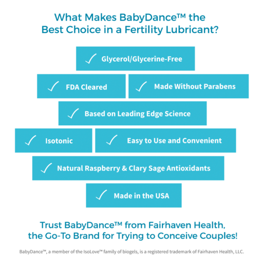 What Makes BabyDance the Best Choice in a Fertility Lubricant