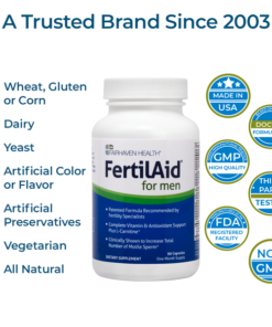 FertilAid for Men Trusted Brand Since 2003